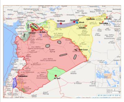 Den aktuelle udvikling i Syrien og specielt Nordøstsyrien