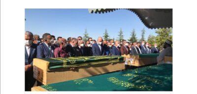 Syv kurdere er blevet begravet efter gårsdagens angreb i Konya