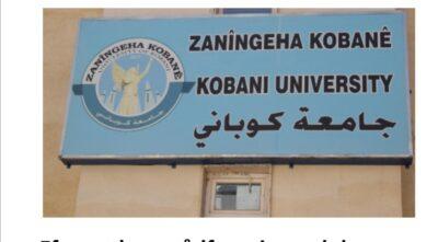 Universitetet i Kobanê åbner 7 nye afdelinger
